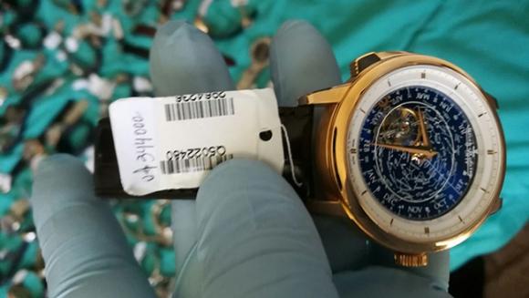 El reloj estaría valuado en 344.000 dólares. Foto: Subrayado