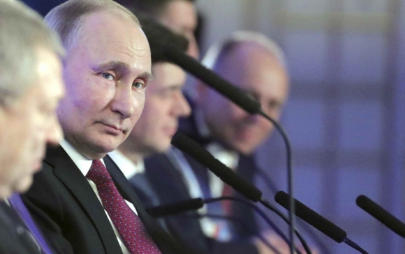El presidente Putin aplica políticas y tiene un estilo que la ciudadanía aprueba. Foto: Reuters