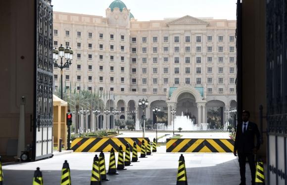 Hotel Ritz-Carlton: una prisión de lujo, pero sin Internet. Foto: AFP