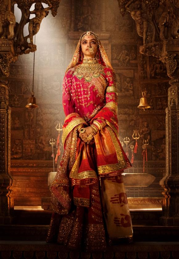 Deepika Padukone, una actriz que tiene precio por su cabeza. Foto: Difusión