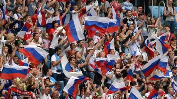 El seleccionado local abre el mundial frente a Arabia. Foto: AFP