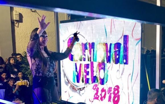 Moria en el Carnaval de Melo