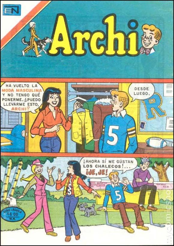 """Viejas historietas de """"Archie"""""""
