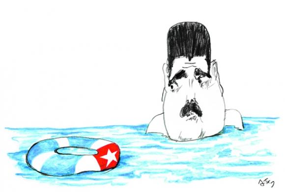 Nicolás Maduro por Arotxa.