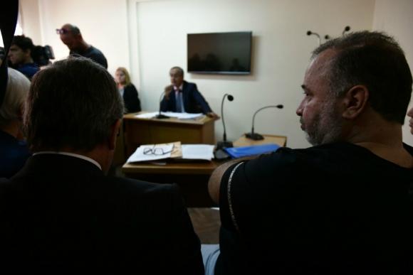 Marcelo Balcedo y su abogado, Alejandro Balbi. Foto: Fernando Ponzetto.