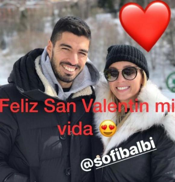 El mensaje de Suárez a Sofía Balbi