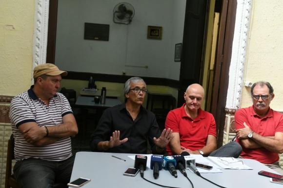 Conferencia del Partido Comunista. Foto: Ariel Colmegna