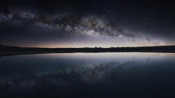 El cielo en el desierto de Atacama
