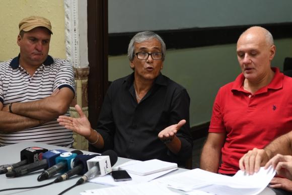 """Castillo: """"No somos quienes para decir al presidente a quien tiene que poner"""". Foto: G. Pérez"""