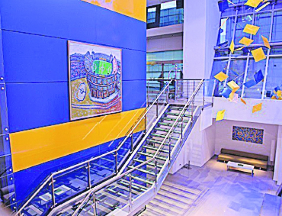 El Hotel Boca Juniors by Design
