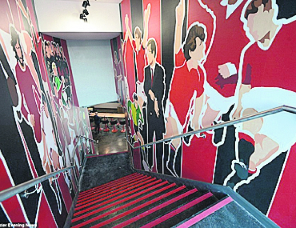Hotel del Fútbol en Old Trafford