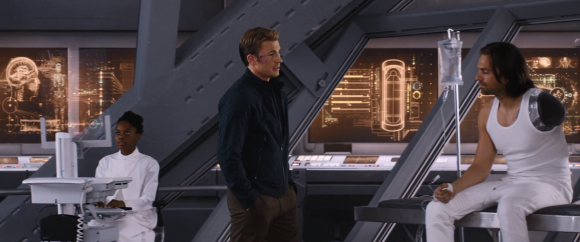Escena de Capitán América: Guerra Civil