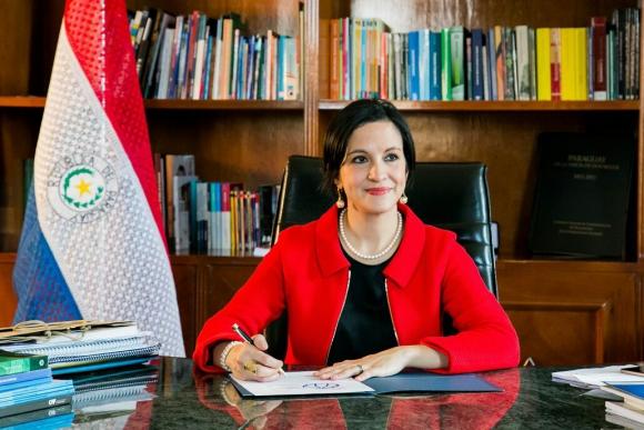 Lea Giménez, ministra paraguaya. Foto: Wikimedia Commons