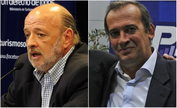 Ambos directores mantienen a sus respectivas parejas en cargos administrativos. Foto: Presidencia