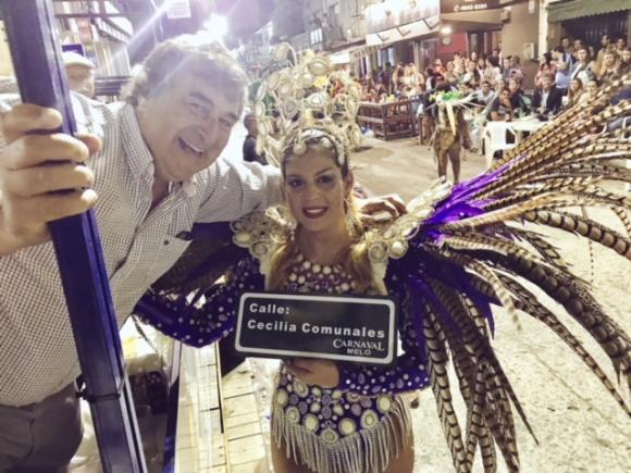 Sergio Botana y Cecilia Comunales