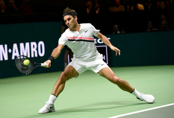 Roger Federer. EFE.