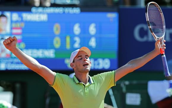 Dominic Thiem. Foto: AFP.