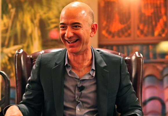 El CEO de Amazon, Jeff Bezos. Foto: Wikimedia Commons