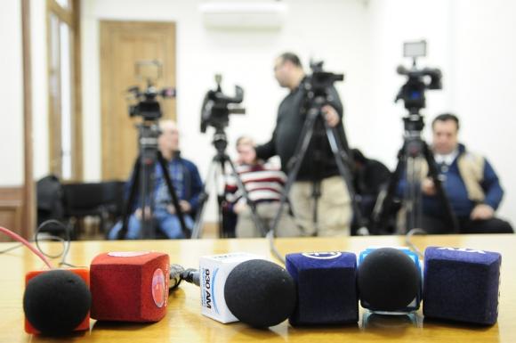 Seguimiento de noticias. Foto: Fernando Ponzetto