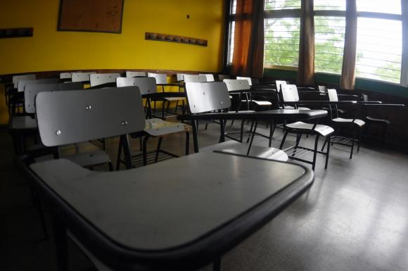 El colegio Santa María agradeció el apoyo de la comunidad educativa. Foto: F. Ponzetto