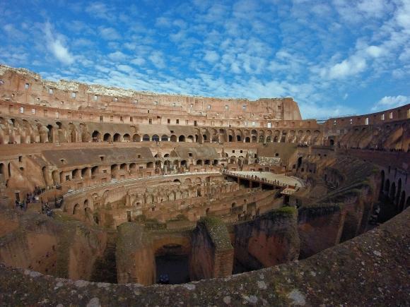 El coliseo, Roma. Foto: Pixabay