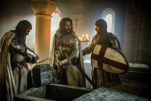 Knightfall, una nueva producción sobre la historia de los Caballeros Templarios. Foto: Difusión