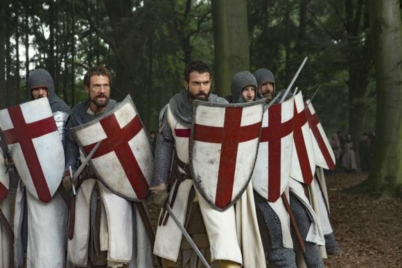 Knightfall, una búsqueda por el Santo Grial en formato serie de televisión. Foto: Difusión