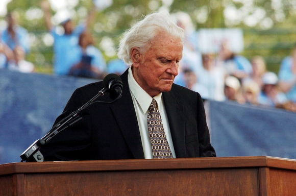 Billy Graham. Reuters