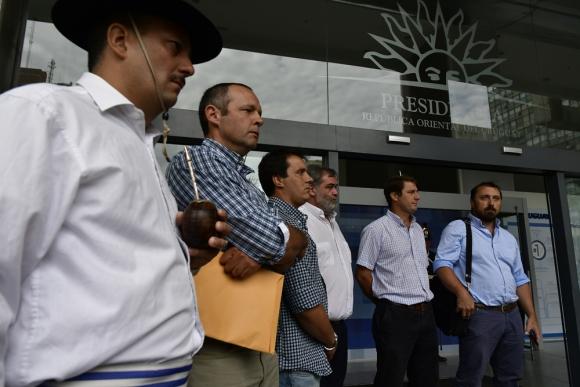 """Su portavoz, Álvaro Rivas, dijo que si hacen """"quilombo"""" el movimiento durará """"cinco minutos"""". Foto: F. Ponzetto"""