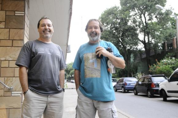 Fabián y Gustavo Vilas comparten varias pasiones. Foto: Darwin Borrelli