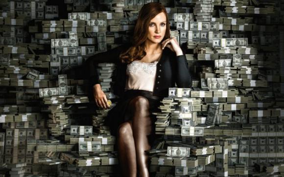 Jessica Chastain protagoniza la película Apuesta maestra. Foto: Difusión