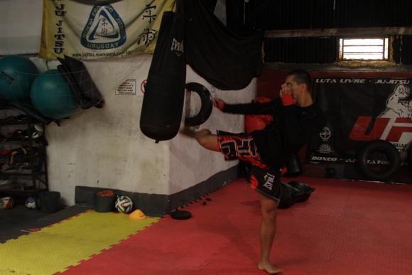 Alexis Correa durante un entrenamiento. Foto: Gabriel Rodríguez