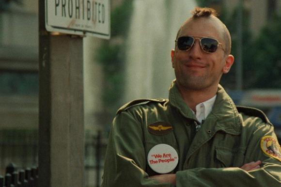 Robert de Niro en Taxi Driver