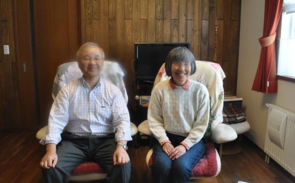 Los anfitriones: Takahuro y Wakako Yoshimachi. Foto: Paula Barquet