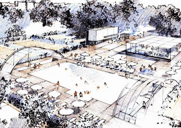 Prado: proyecto para el Complejo Deportivo del Círculo de Tenis. Foto: Difusión