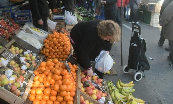 Frutas y verduras revirtieron los precios. Foto: Francisco Flores