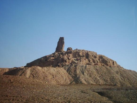 Yacimiento de Borsippa. Foto: Wikimedia Commons