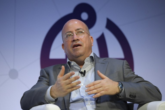 Jeff Zucker, presidente de CNN. Foto: AFP