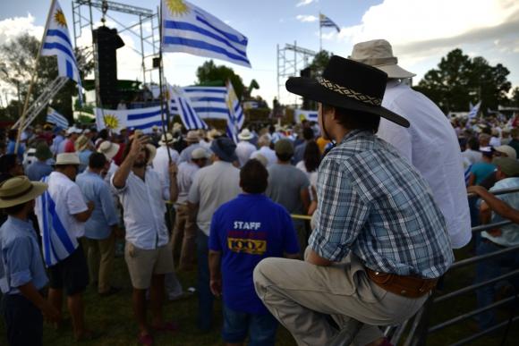 Marcha de autoconvocados. Foto: Fernando Ponzetto