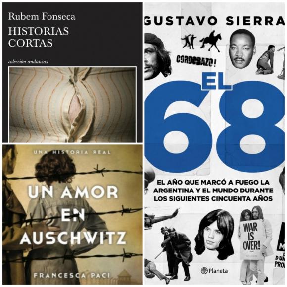 Un amor en Auschwitz, El 68 e Historias Cortas. Foto: Difusión