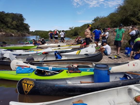 Queguay. Otros años hubo más de 150 participantes.