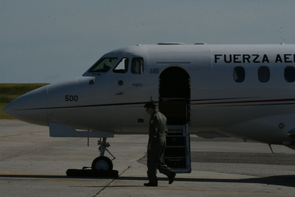 Presentaron el avión C-29 Hawker. Foto: Ariel Colmegna