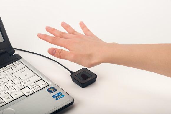 PalmSecure. Un sensor de luz infrarroja capta el patrón de las venas. (Foto: Gentileza Fujitsu)