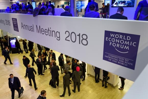 El Foro Económico Mundial se desarrollará en Brasil en marzo. Foto: AFP