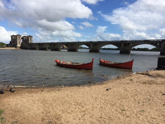 Puente fronterizo Barón de Mauá. Foto: Néstor Araújo