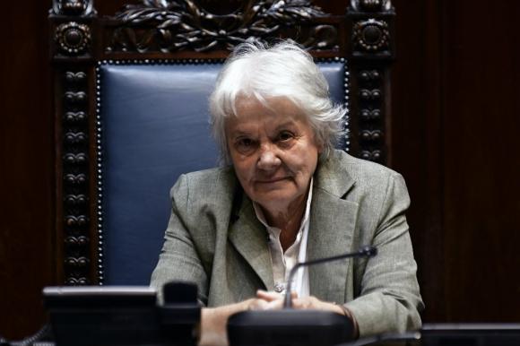 Lucía Topolansky. Foto: Fernando Ponzetto