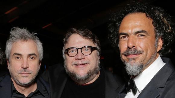 Alfonso Cuarón, Guillermo del Toro y Alejandro González Iñárritu