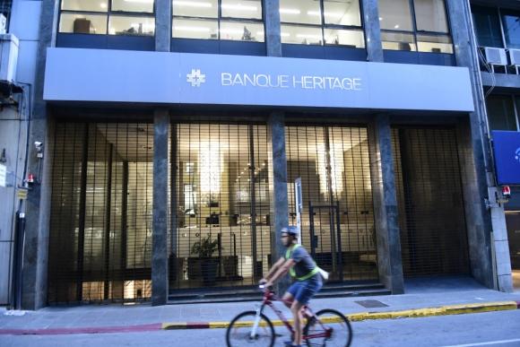 Banco Heritage: autoridades contrataron a consultora para realiza auditoría. Foto: M. Bonjour