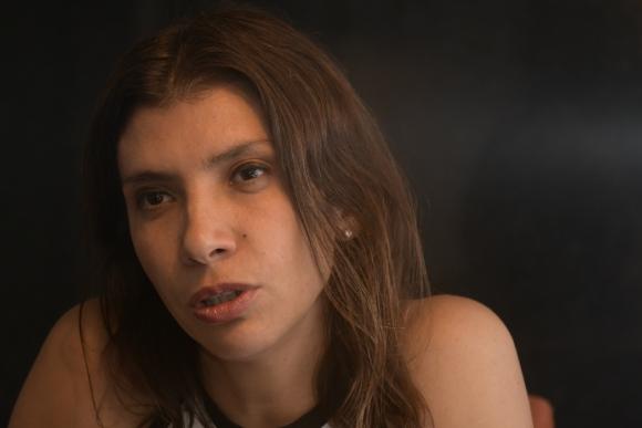 Alejandra Mustakis. Foto: Darwin Borrelli
