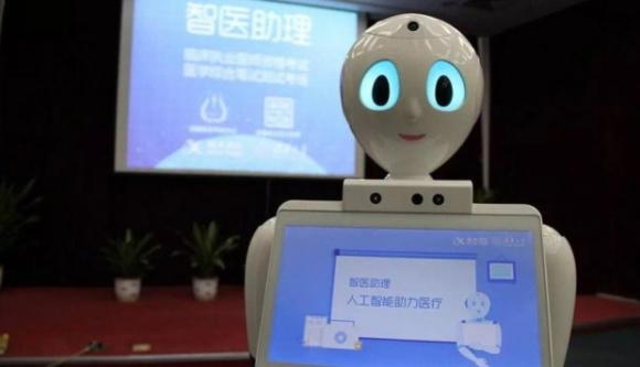 Robot médico china
